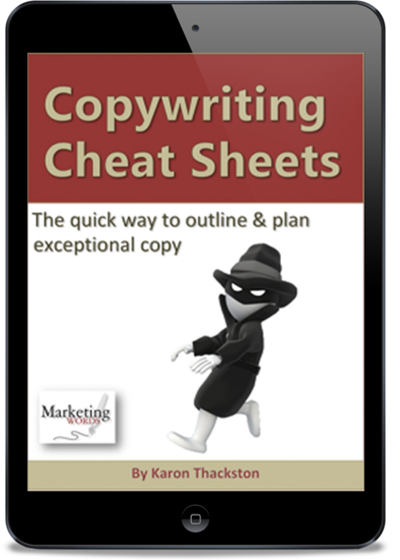 copywriting cheat sheets